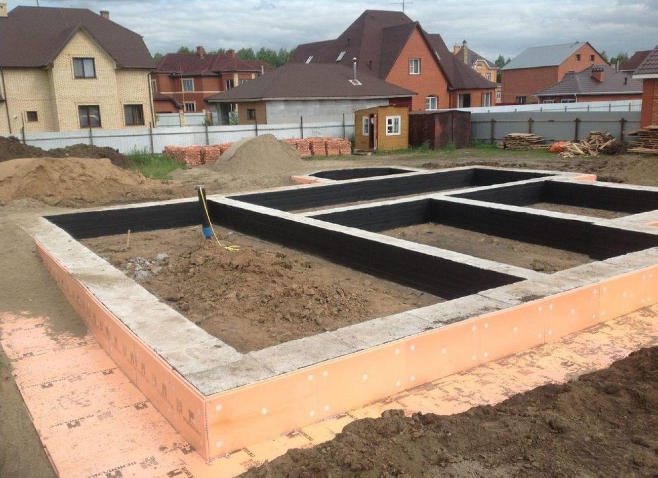 Как залить фундамент под строительство дома 81