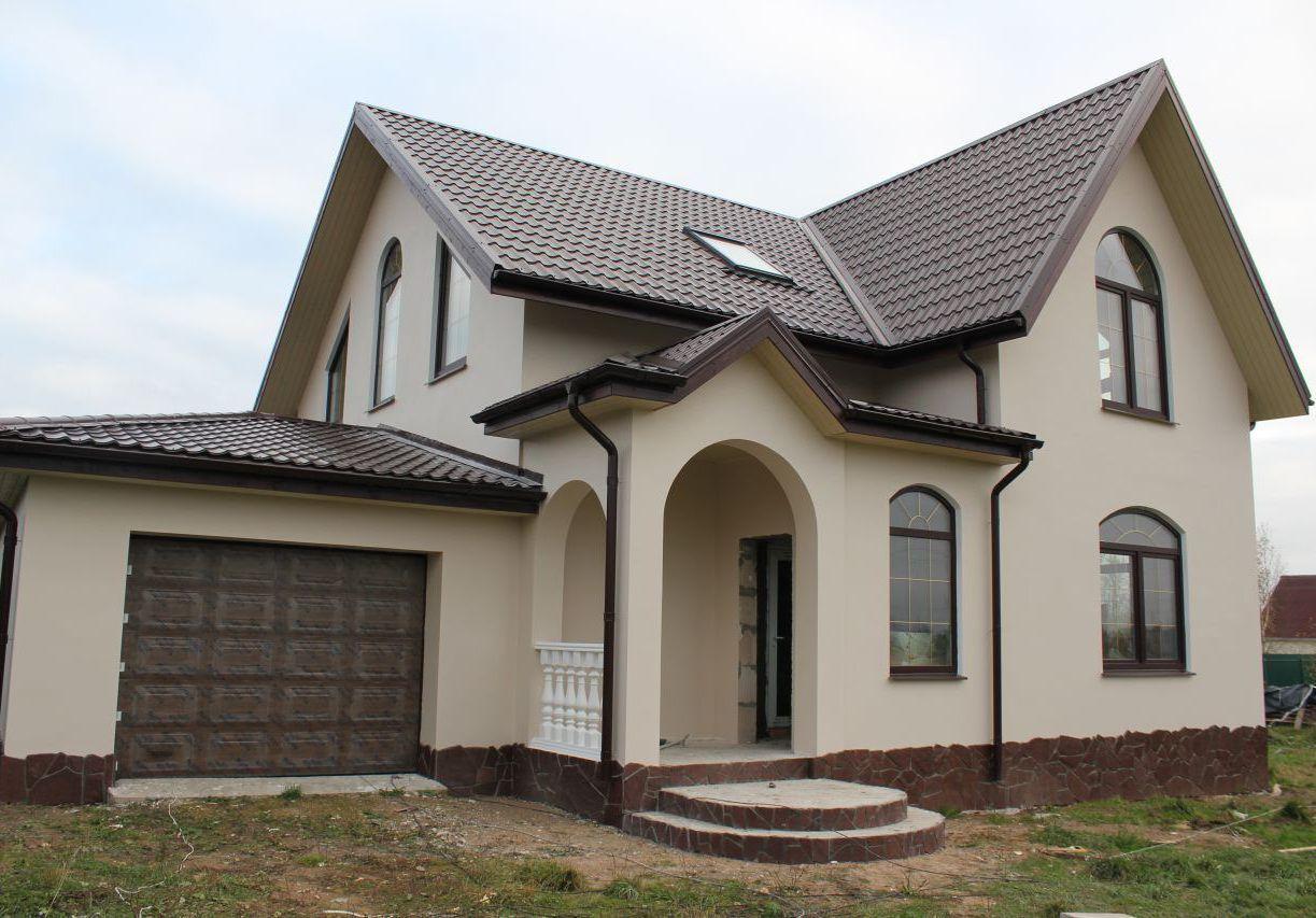 красивые дома из пеноблоков фото